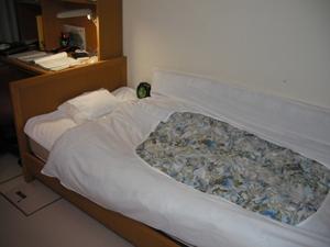 自室のベッド
