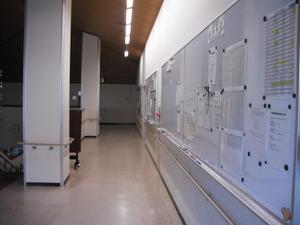 駒ヶ根訓練所の掲示板