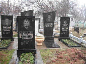 ウズベキスタンの墓