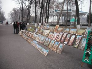 タシュケントの公園