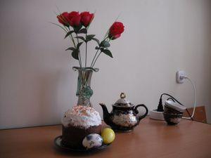 ウズベキスタンの誕生日ケーキ