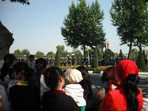 戦勝記念日のパレード
