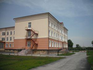 配属先の大学の校舎