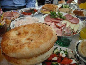 ウズベキスタンの食卓