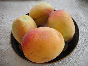 ウズベキスタンの桃