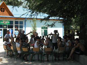 ウズベキスタンの未来を担う若者たち