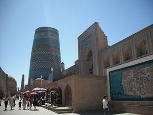 ウズベキスタンの世界遺産