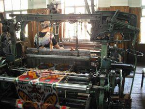 シルク工場