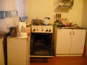 アパートの台所