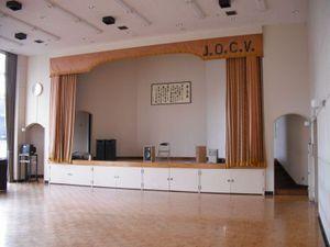 駒ヶ根訓練所の小講堂