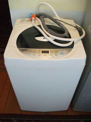 洗濯機を導入