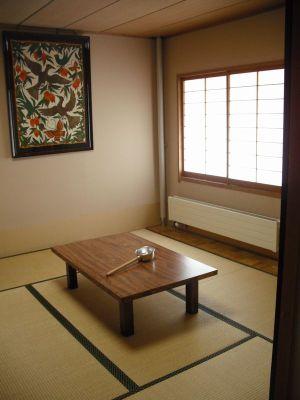 駒ヶ根訓練所の和室