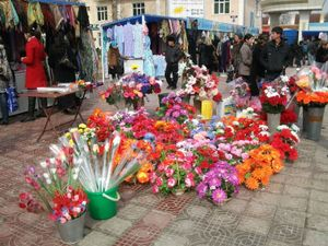 バザールの花屋さん
