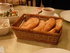 レストランの小さいパン