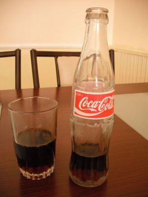 コーラの瓶