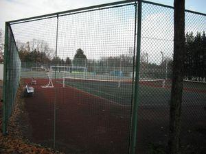 駒ヶ根訓練所のテニスコート