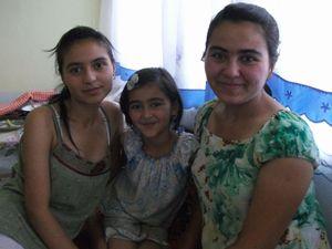 タジク人女性