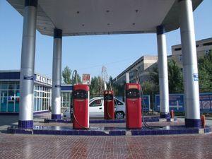 きれいなガソリンスタンド