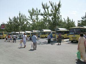 フェルガナのバスターミナル