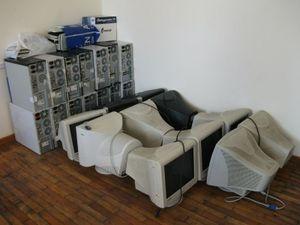 大学のパソコン置き場