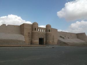 ヒヴァの城門