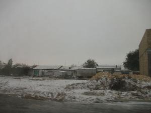 ウルゲンチの雪