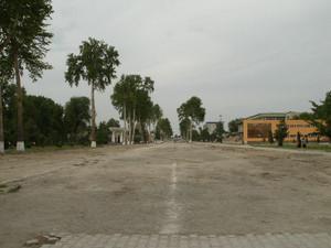現在のフェルガナの風景