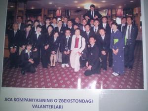 JICAウズベキスタンのボランティアたち