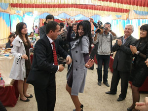 ウズベキスタンの結婚式
