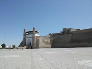 世界遺産・ブハラのアルク城