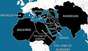 イスラム国が主張する領土