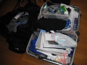 入所前に送付する荷物