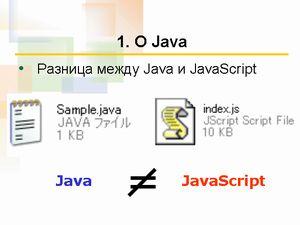 JavaとJavaScriptは別物