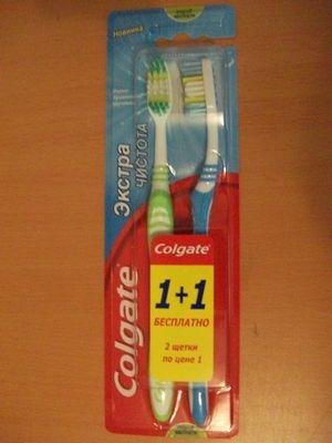 中国製の歯ブラシ