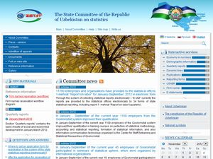 The State Committee of the Republic of Uzbekistan on Statistics