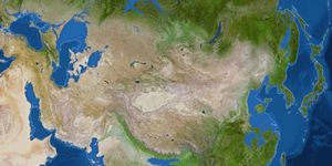 5,000年後のアジア