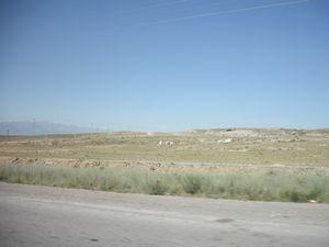 ウズベキスタンの国境付近
