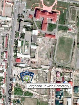 Ferghana Jewish Cemetery - Google Maps